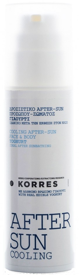 Korres Cooling After Sun Πρόσωπο & Σώμα, 150ml