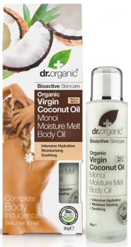 Dr. Organic Coconut Oil Moisture Melt, 90gr